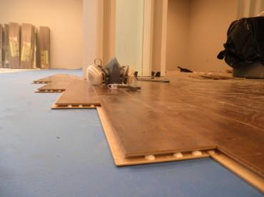 hardwood flooring installation glue